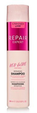 Unwined By HASK Beauty REPAIRING RED WINE Shampoo and Conditioner
